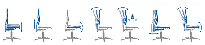 Ergonomic Chair Positions