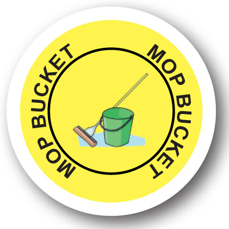 mop bucket graphic