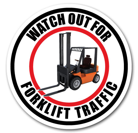 forklift traffic