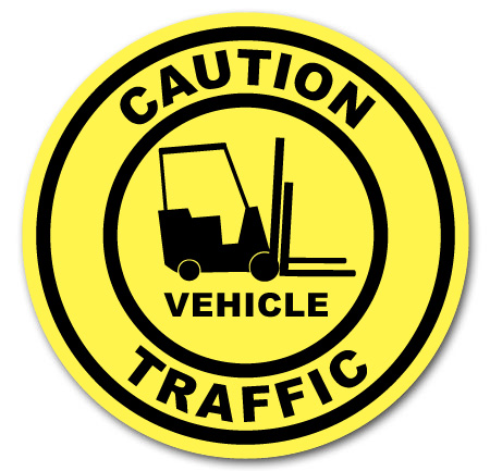 caution vehicle traffic