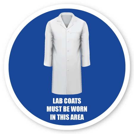 lab coats required