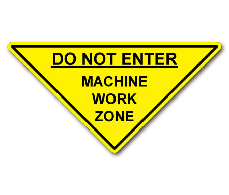 dne machine work zone